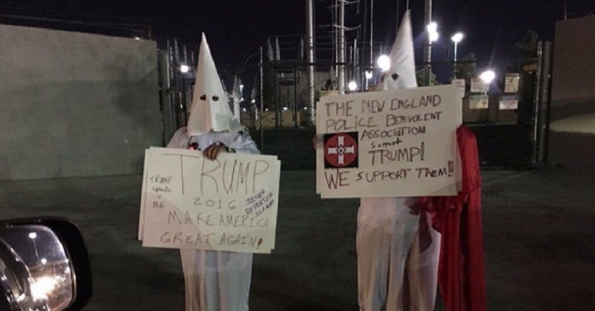 Nevada-KKK-anti-Trump-protest-1