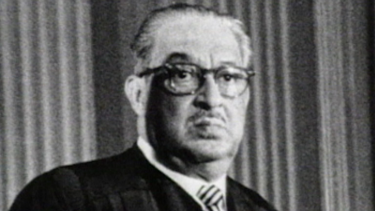 black history thurgood marshall