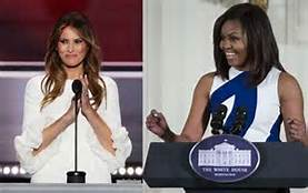 Michelle Obama Steals Melania's Speech!