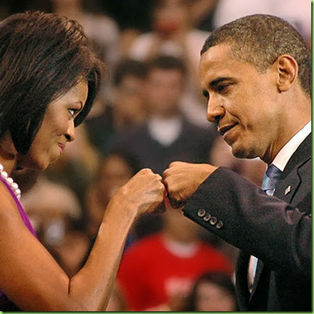 Michelle Fist Bump