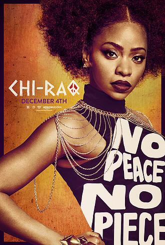 a chi-raq poster no peace
