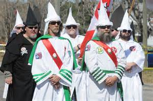 a klan rally