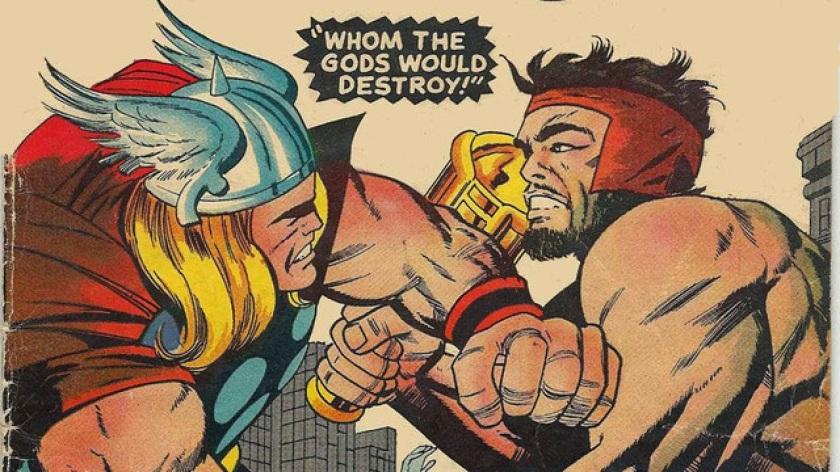 a thor vs odin