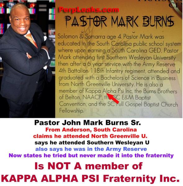 a mark burns