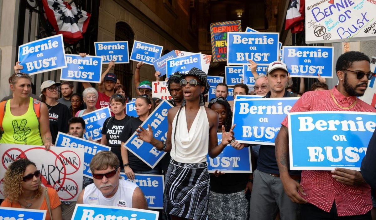 Bernie or Bust People… You're Being Ridiculous