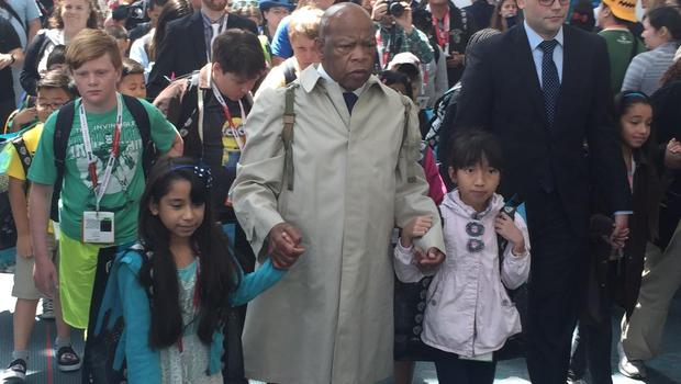10 Photos Of John Lewis In Action (And What Trump Was Doing At TheTime)