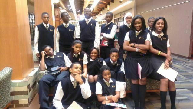 Wilson Academy Students