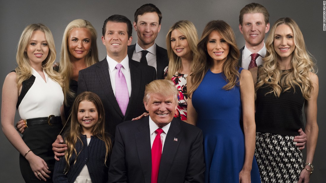Image result for Trump and his family pics